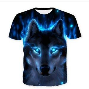 Digital WereWolf T Shirt